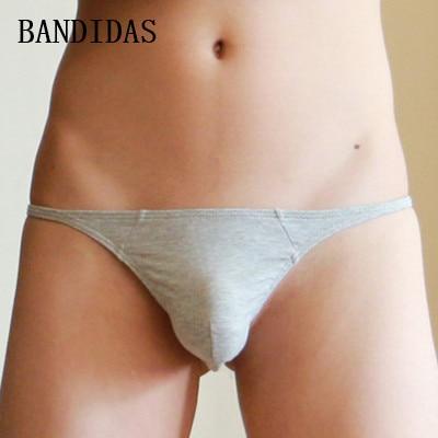 Cotton Cueca Gay Men Jockstrap Underwear Sexy Sheer Mens Thong Thongs Ultrathin Sexy String Bikini Underwear Briefs For Men Hot