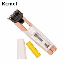 Rechargeable Stainless Steel Blade Coldless Shaver Razor with 3 Combs