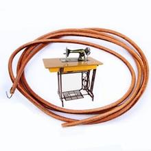 Reemplazo de la correa del pedal de cuero antiguo Vintage que vende mecedora Manual Industrial hogar para la máquina de coser