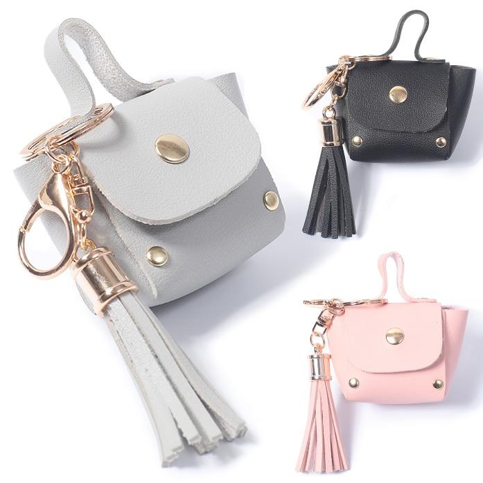 Mini Coin Purse Pocket Women Short Wallets Moneybags Female Girls Gifts Hasp Purses Tassel Buckle Money Bag Wallet Burse Case