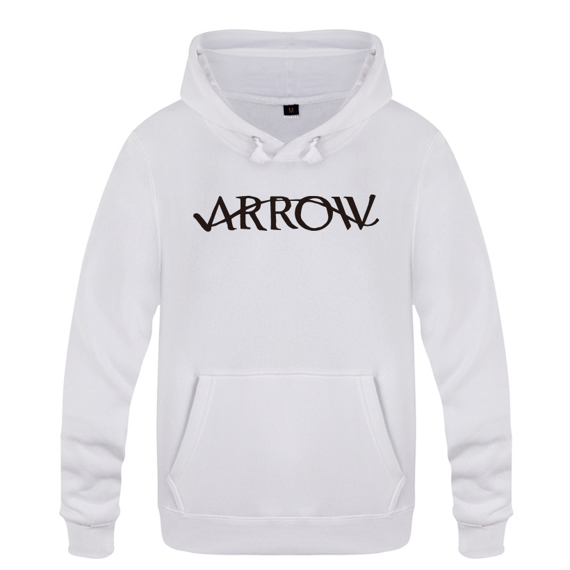 Green Arrow Hoodies Men 2018 Men's Pullover Fleece Hooded Sweatshirts