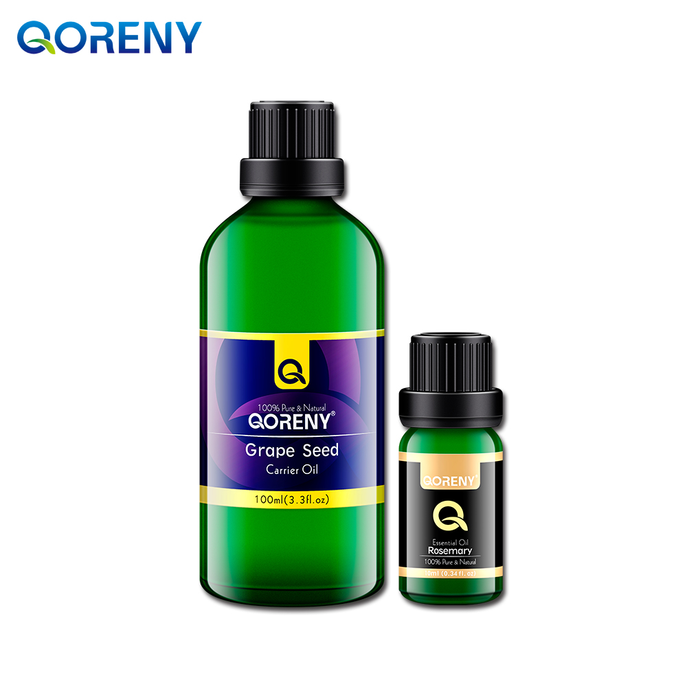 Rosemary essential oil 10ML + grape seed oil 100ML rosemary wells felix stands tall