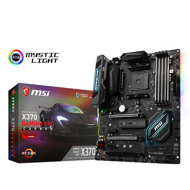 MSI X370 GAMING PRO CARBON AM4 Motherboard