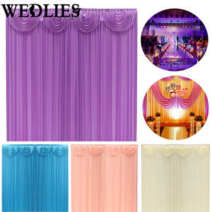 Best wedding drapes supplies list backdrop curtain drapes background wedding decoration party junglespirit Images