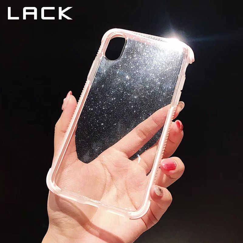 Étui pour iphone 11 11Pro Max X XS XR XS Max 6 6S 7 8 Plus étui transparent couleur bonbon