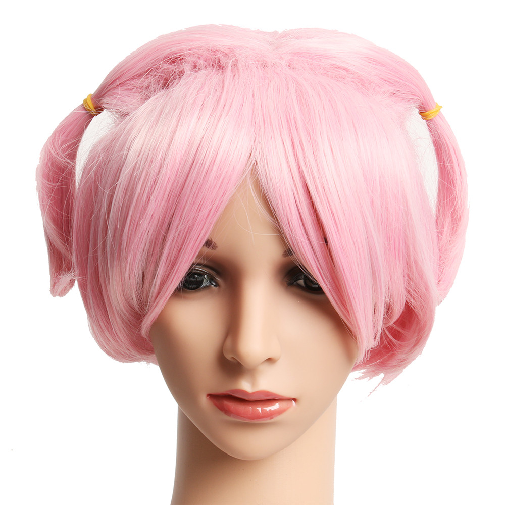 New Natsuki Wig Doki Doki Literature Club Halloween Cosplay Pink Wig Cosplay Costumes Accessories