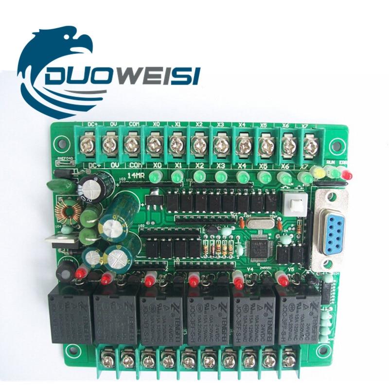 все цены на PLC IPC board microcontroller control board relay board PLC FX1N-14MR SRD24VDC FX1N 14MR онлайн
