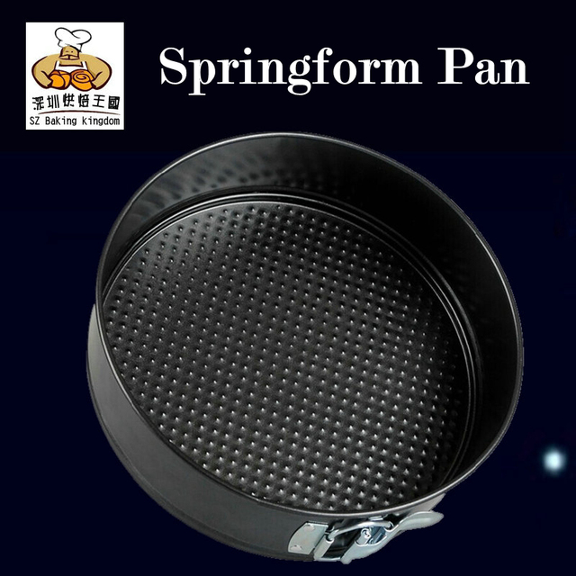 6/8/10 Inch Non-stick slipknot round cake pan Springform Pan Baking molds Cake Mold  Decorating Tools