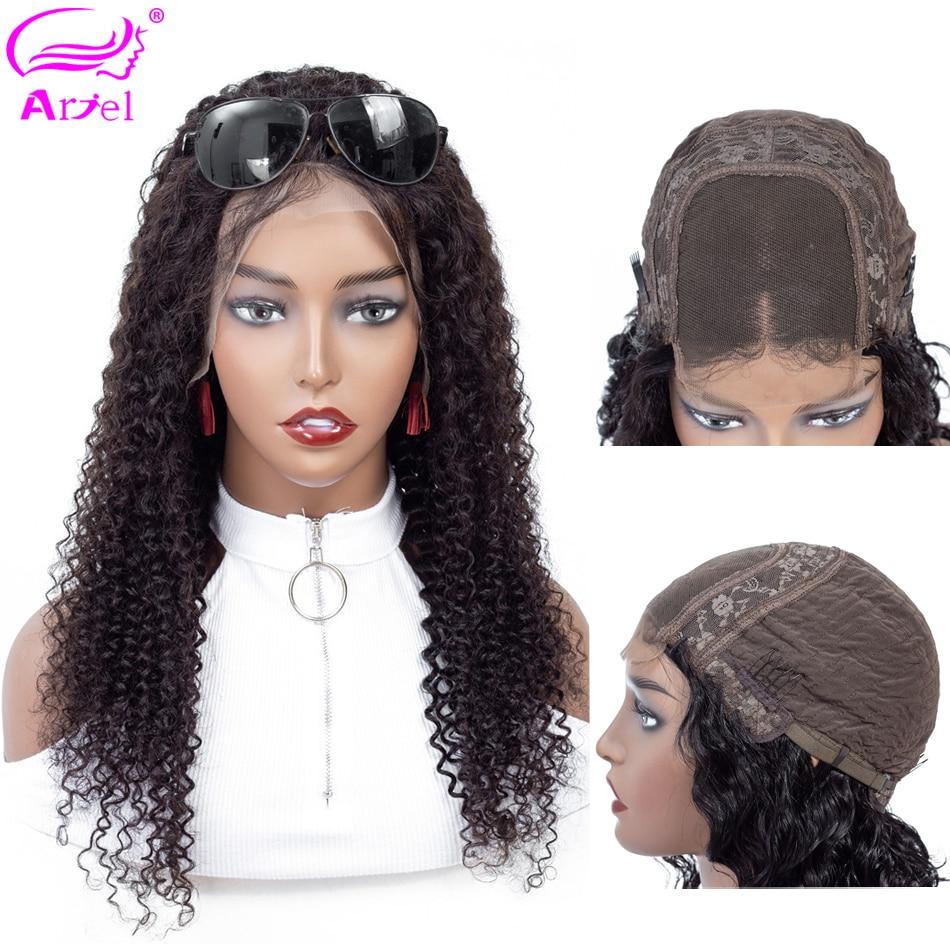 Curly Human Hair Wig 4x4 Closure Wig Lace Closure Wig Mongolian Human Hair Wigs 28 30 Innrech Market.com