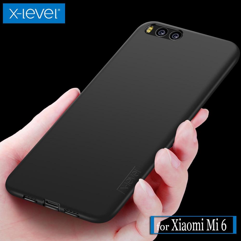 Xiaomi Mi 6 Case X-Level Guardian Ultra Thin Matte Soft Silicone TPU Phone Back Protective Full Cover for Xiaomi Mi 6 Mi6 Cases