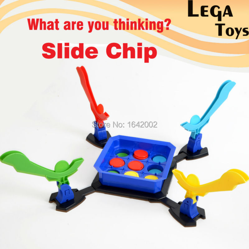 Fun Slide Chip Shooting Board Games ,What are you thinking?Novelty Gag Toys Family Game Dinner Party for Children and Adults