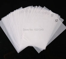 10000 pcs/lot CPE Frosted Plastic Package Bags Merchandise Electronics Gift Bag CPE Bags 7.5*14cm Open Top with Logo