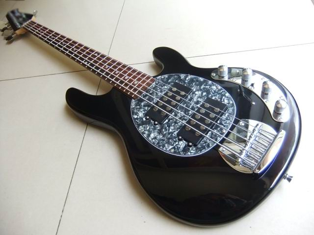 wholesale new musicman ernie ball 5 string ray 5 string electric bass guitar best selling bass. Black Bedroom Furniture Sets. Home Design Ideas