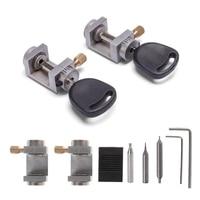 OOTDTY Key Clamping Fixture Duplicating Cutting Machine Lock Opener Tools Car Key Copy Universal Hand Tool Locksmith Supplies