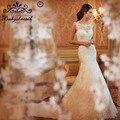 2017 Vestido De Noiva Casamento Louisvuigon Vestidos Black Friday Lace Mermaid Wedding Dress Sexy Bridal Gown Robe De Mariee