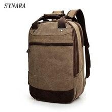2017 Tigernu Canvas Men's SYNARA Bag Brand 14.1Inch Laptop Notebook Mochila for Men  Back Pack school backpack bag