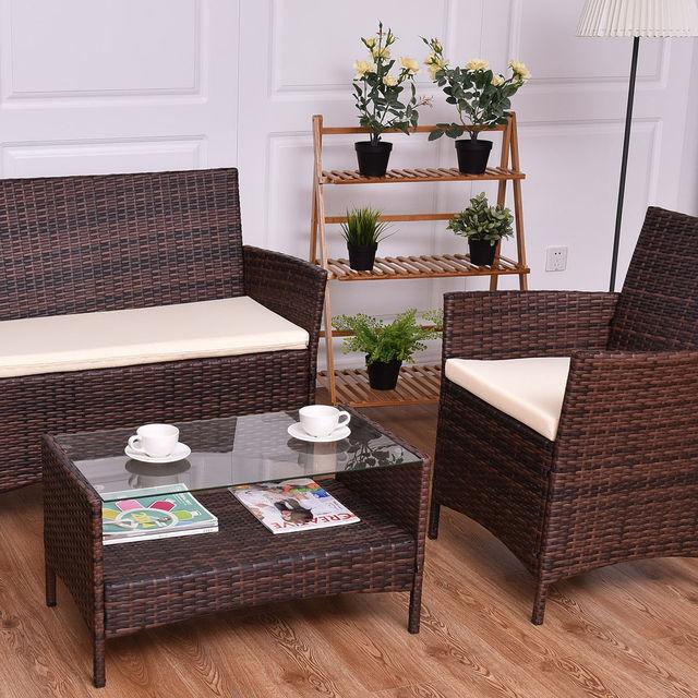 Giantex 4PCS Outdoor Patio Sofa Set  5