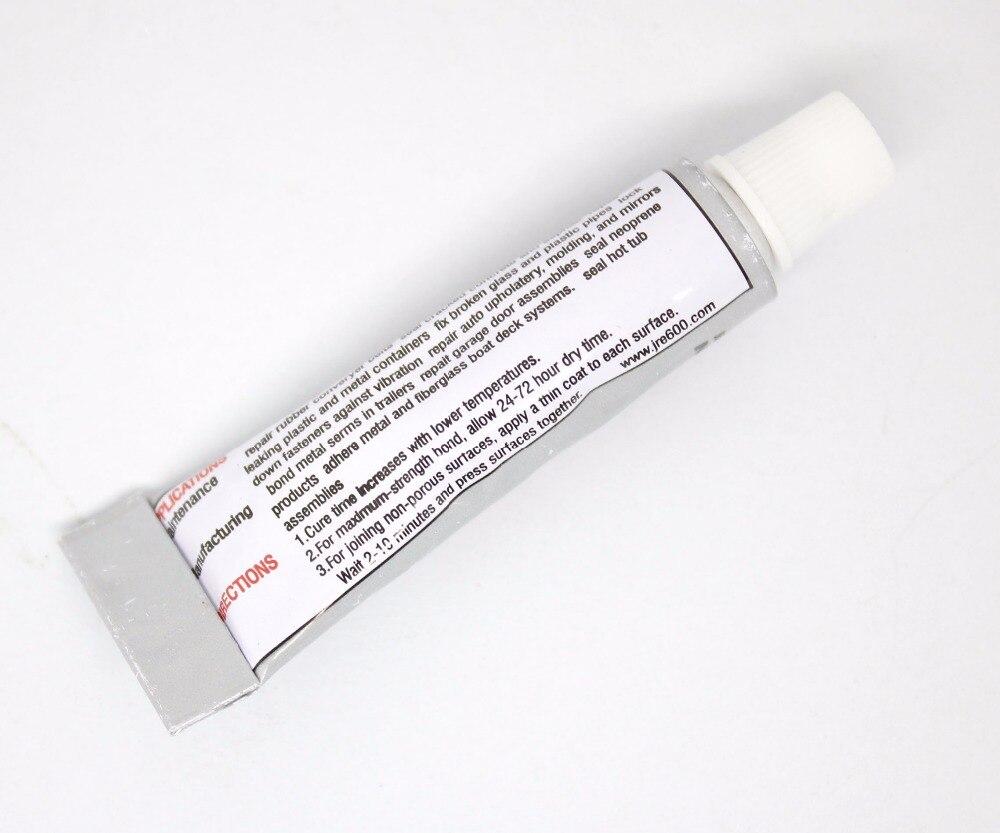 Купить с кэшбэком 12pcs E600 Clear Adhesive glue 5mL  for metal leather beads