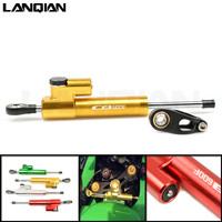 CNC Universal Motorcycle Damper Steering Stabilize Safety Control For Honda cb600f cb 600 f CB600F HORNET F4i 2007 2016 CB400