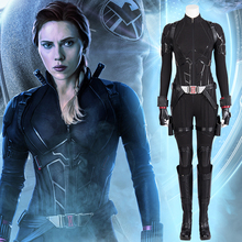 MANLUYUNXIAO Avengers Infinity War Black Widow Costume Carnival Halloween Superhero Jumpsuit Cosplay  Anime