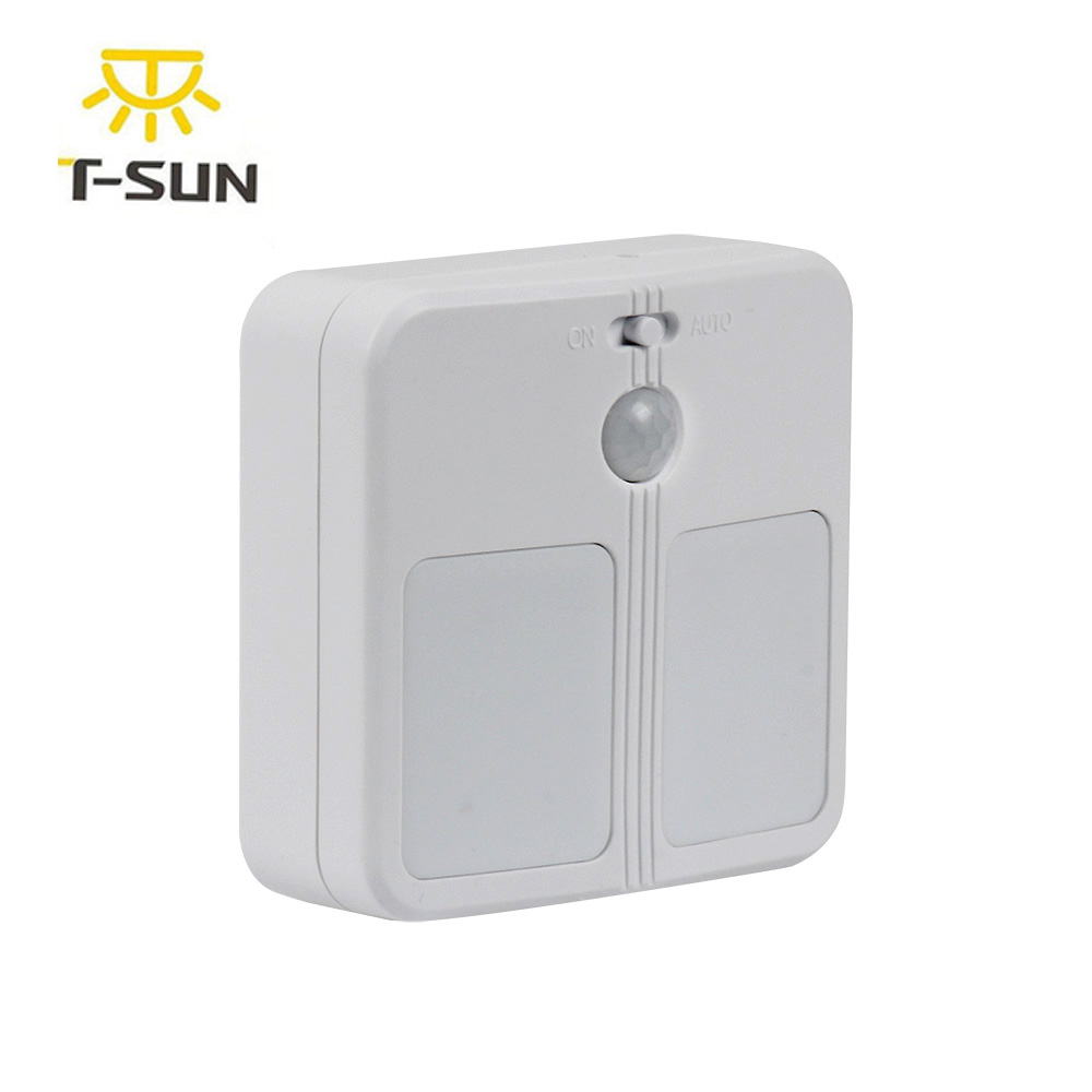 T SUNRISE PIR Sensor Wireless Wall Lamp LED Night Light With Motion Sensor  Battery
