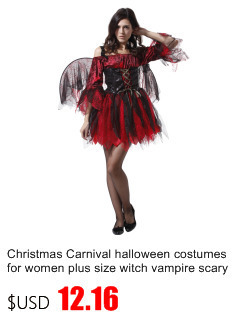 Christmas Carnival halloween costumes for women plus size sexy adult ... 0a27ceab2208
