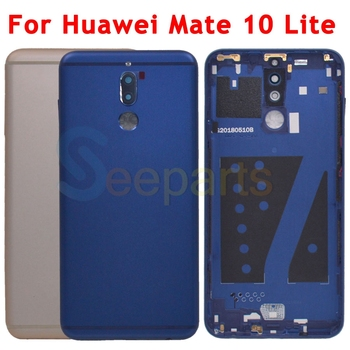 For Huawei Mate 10 lite Battery Cover Rear Door Housing G10 Plus Back Case Chassis For Huawei Nova 2i Mate 10 Lite Battery Cover