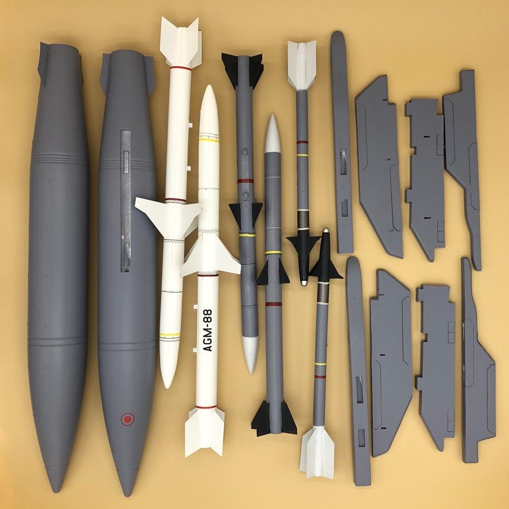 Oyuncaklar ve Hobi Ürünleri'ten Parçalar ve Aksesuarlar'de Silahlar ve pilon seti Freewing F 16C dövüş şahin rc jet uçak F16 90mm edf'da  Grup 1