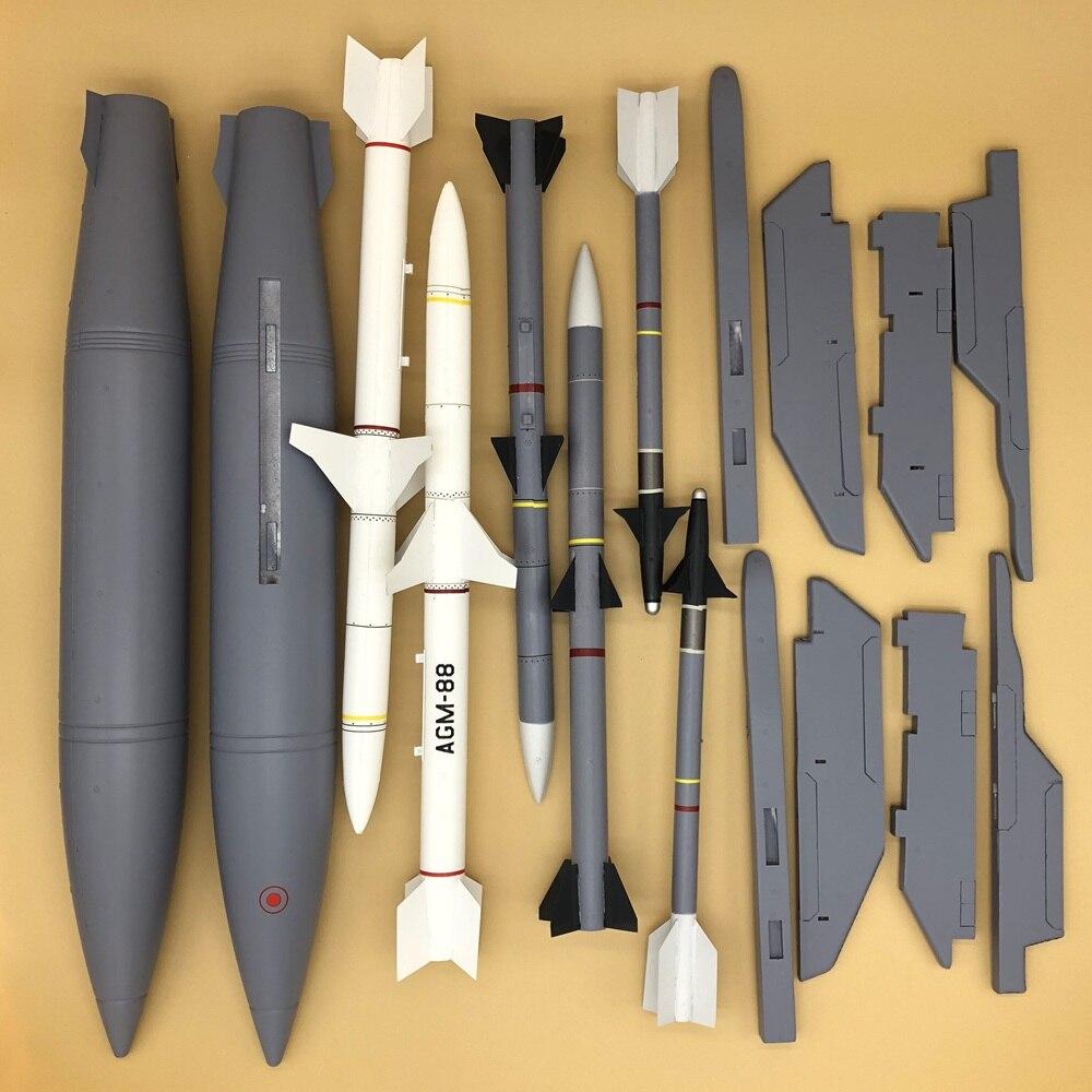 Wapens en pylon set voor Freewing F 16C fighting falcon rc jet vliegtuig F16 90mm edf-in Onderdelen & accessoires van Speelgoed & Hobbies op  Groep 1