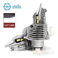 Stella H4/9003/HB2 LED headlight bulbs 12V 24V 70W 11600LM diode lamps for cars high beam dipped beam fog lights auto grade chip