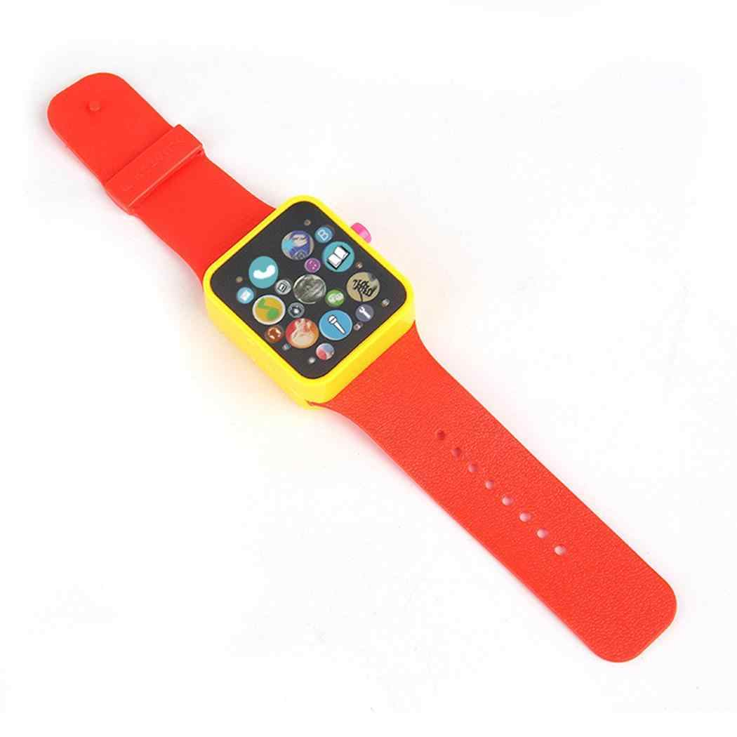 Children Educational Early Learning Watches Toys Square Hasp More Than 3 Years Games Watches Button Battery