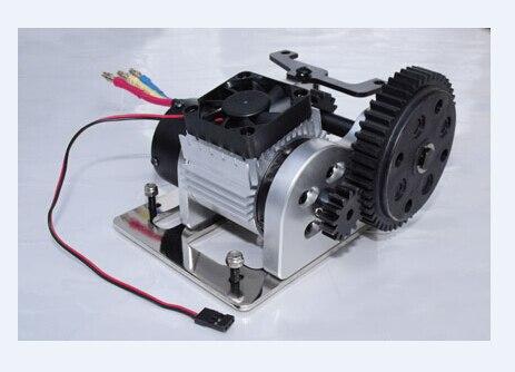 RC الغاز سيارة فرش الكهربائية ترقية جبل تحويل عدة ل FG Smartech كارسون 1/5 مقياس MT Truck Buggy Redcat HSP FS سباق-في قطع غيار وملحقات من الألعاب والهوايات على  مجموعة 1