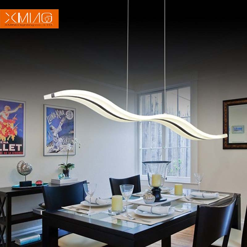 Modern Led Pendant Lights Fixture For Dining Room Living
