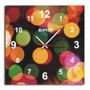 EMIT No Frame Picture Colour Fashion Wall Clock A041Y