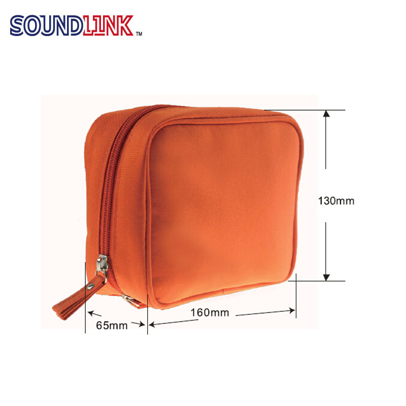 Portable Oxford Travel Kit Bag Children Kit Bag Case For Daily Hearing Aids Cleaning