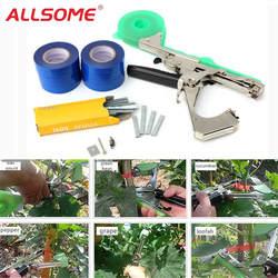 ALLSOME садовый инструмент завод связывая Tapetool инструмент для подвязки ветвей филиал ручной завязывающая машина упаковка овощей стволовых
