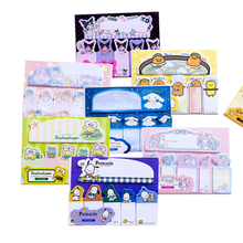 1pack/lot Cute Cartoon Animals Index Mini Label Page Markers Memo Sticky Pad Note Notebook Label Sticker School Office Supplies stylish memo pad scheduler about 160 page