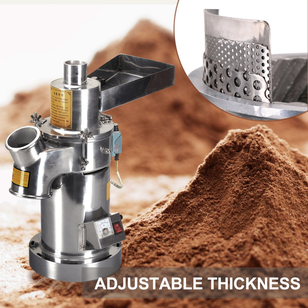 YF3-1 Large capacity Stainless steel Electric Mill crusher grains powder grinder machine pepper Herb grinding machine high quality 2000g swing type stainless steel electric medicine grinder powder machine ultrafine grinding mill machine