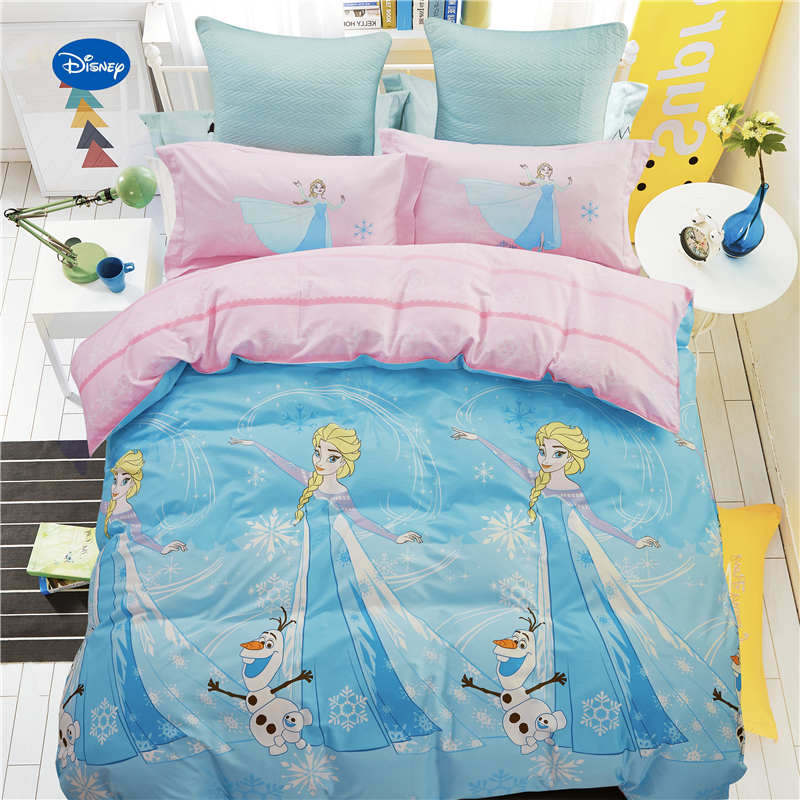 Cheap Bedroom Sets Kids Elsa From Frozen For Girls Toddler: Cartoon Frozen Elsa 3D Printed Comforter Bedding Set Girls
