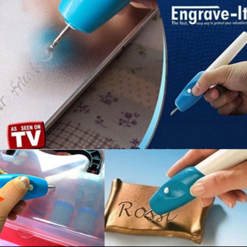 DIY electric mini engraving machine chisel word marker metal plastic glass cutting plotter Engraver Corrode Engraved Pens