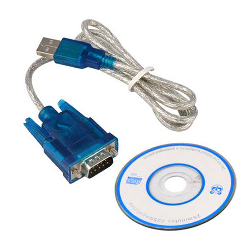 USB To RS232 Serial Port 9 Pin Male Cable Serial COM Port Adapter Convertor