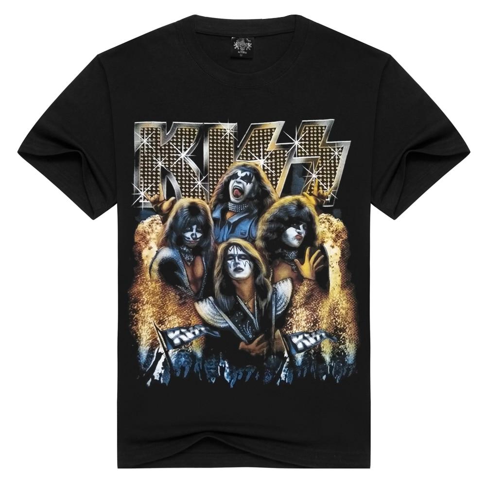 Hip Hop Women/Men t shirt KISS Creatures Short Sleeve t-shirt Funny 3D Print T-Shirts Summer Tops Tees