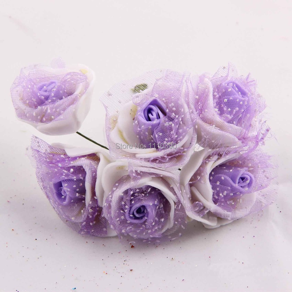 3cm Wedding Bridal Bouquets With Silk Real Touch Roses Diy