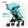Ange baby baby trolley high landscape ultra-light portable can sit four rounds of shock absorbers car baby stroller bb Russia fr