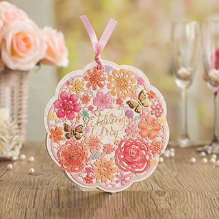 40pcs Lot Free Shipping Original Romantic Butterfly Floral