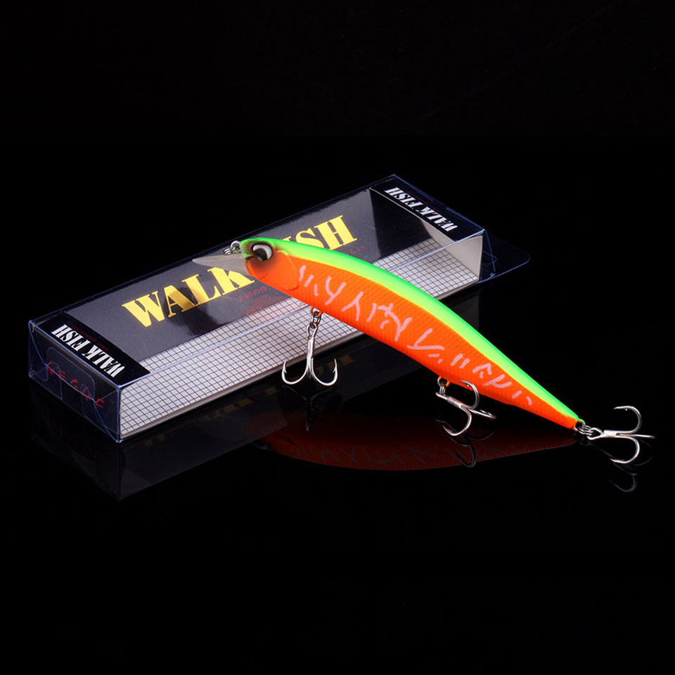 WALK FISH 2019 Hot Model Wobbler Fishing Lure 135mm 17.4g Floating Minnow Crankbait Bass Pike Bait Fishing Tackle Pesca