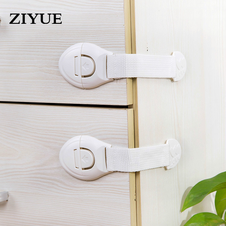 10pcs/lot Free shipping Baby Child Safety Lock 3m Drawer Cabinet Door Lock Function Extension