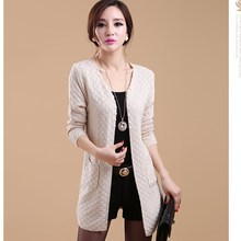 Casual Long Sleeve Knitted Cardigans