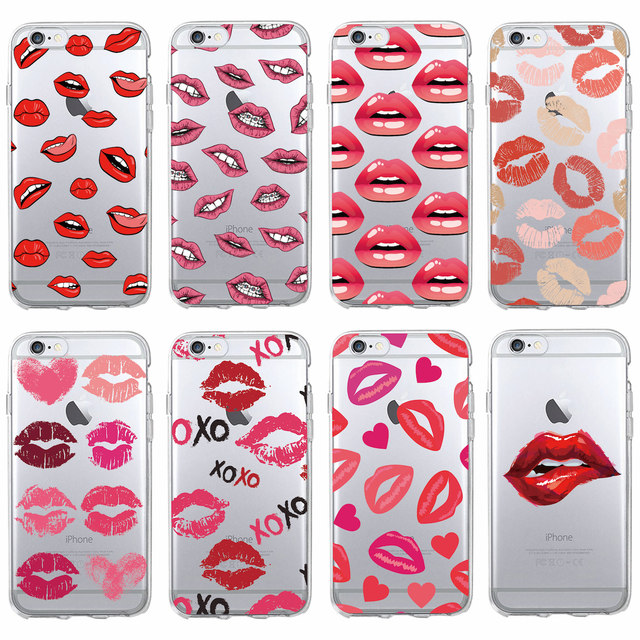 iphone 7 phone case lips