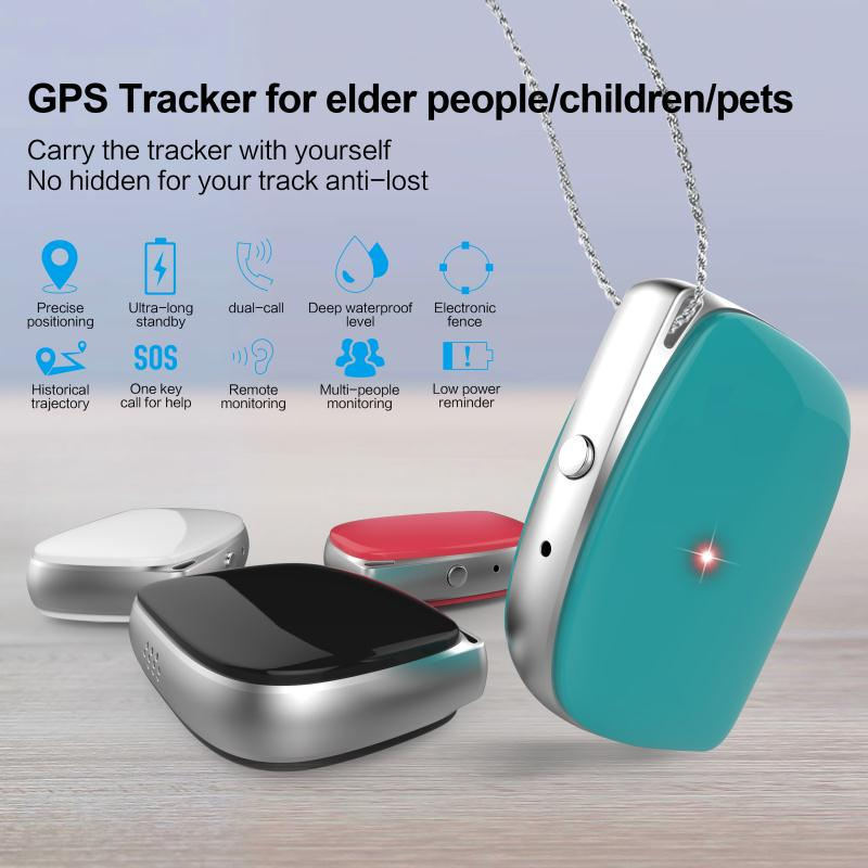 MT70S 2G Portable Wear Mini Personal GPS Tracker Children GPS & GSM(LBS)& WIFI 7 Days Standby Kids Tracking Device GPS Locator
